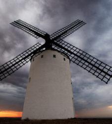 La Mancha molino viento