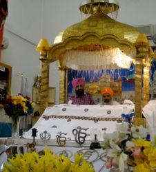 Sijismo gurdwara altar