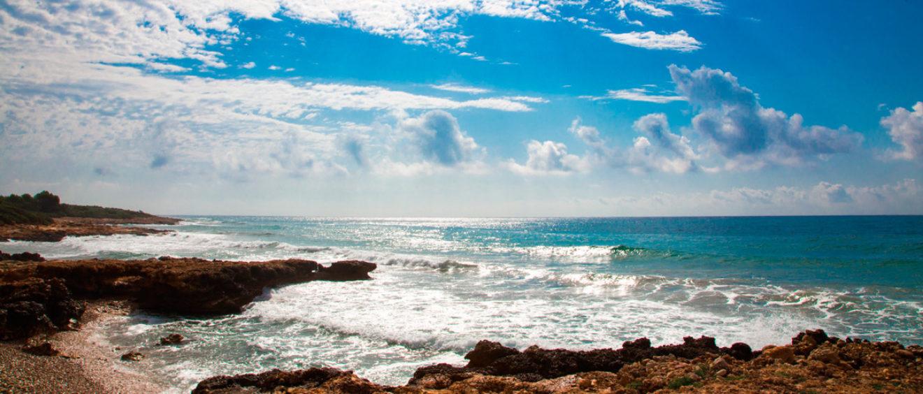 Dias de playa, mar y rocas