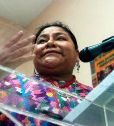 Rigoberta Menchu Maya Guatemala