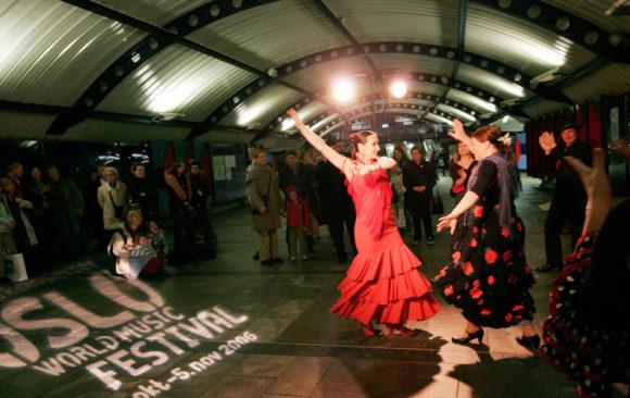 World Music Oslo Flamenco metro oslo