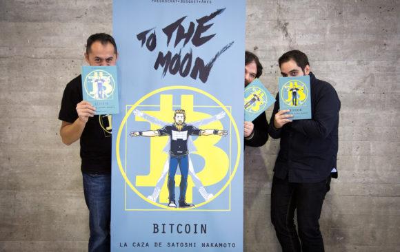 Bitcoin Comic autores portada