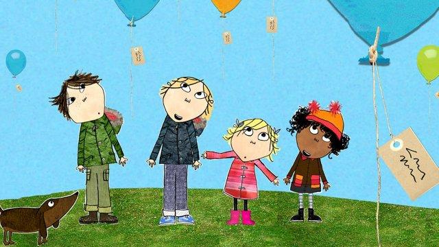 Charlie Lola dibujos animados