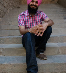 Sijismo retrato Gagan Deep Singh
