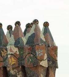 Gaudi chimenea